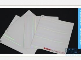 白卡纸和金银卡纸的印刷区别?